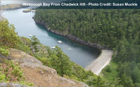 Chadwick Hill Lopez Island Map